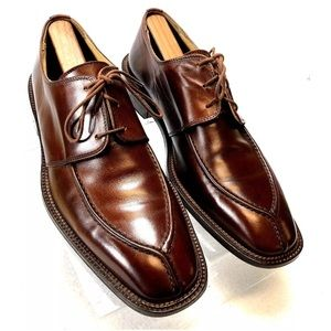 Other - FOLIO New York Men's Brown leather Oxfords Size 9M
